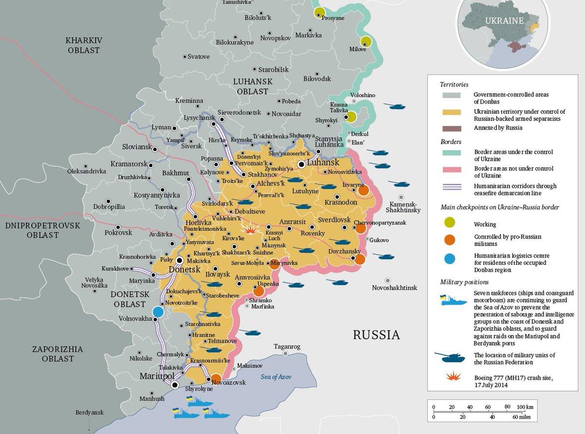 chatham house on twitter map eastern ukraine status of conflict september 2017 chukraine