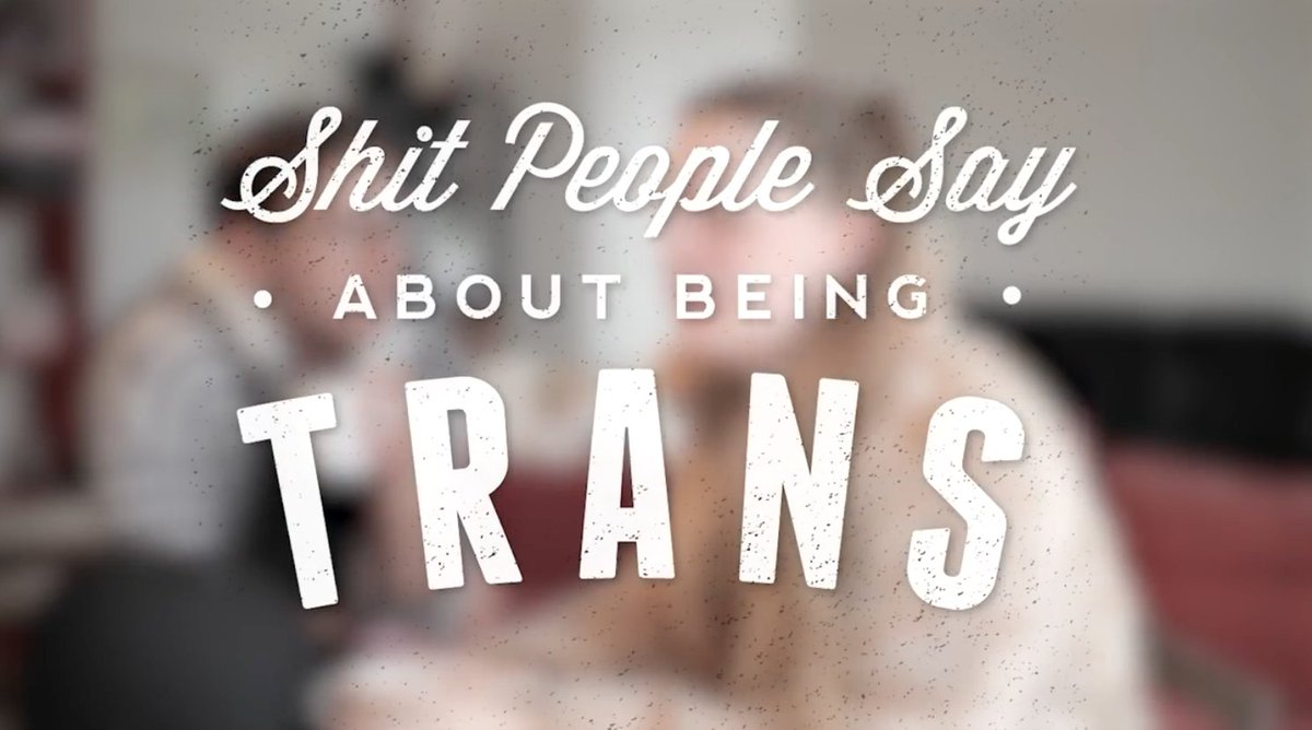 Comedy sketch by @UglaStefania and I about some of the the sh*it people say to trans people! Check it out:  https://www. youtube.com/watch?v=oeQoIL wxl_g &nbsp; …  #trans <br>http://pic.twitter.com/J8BCD8C3gL