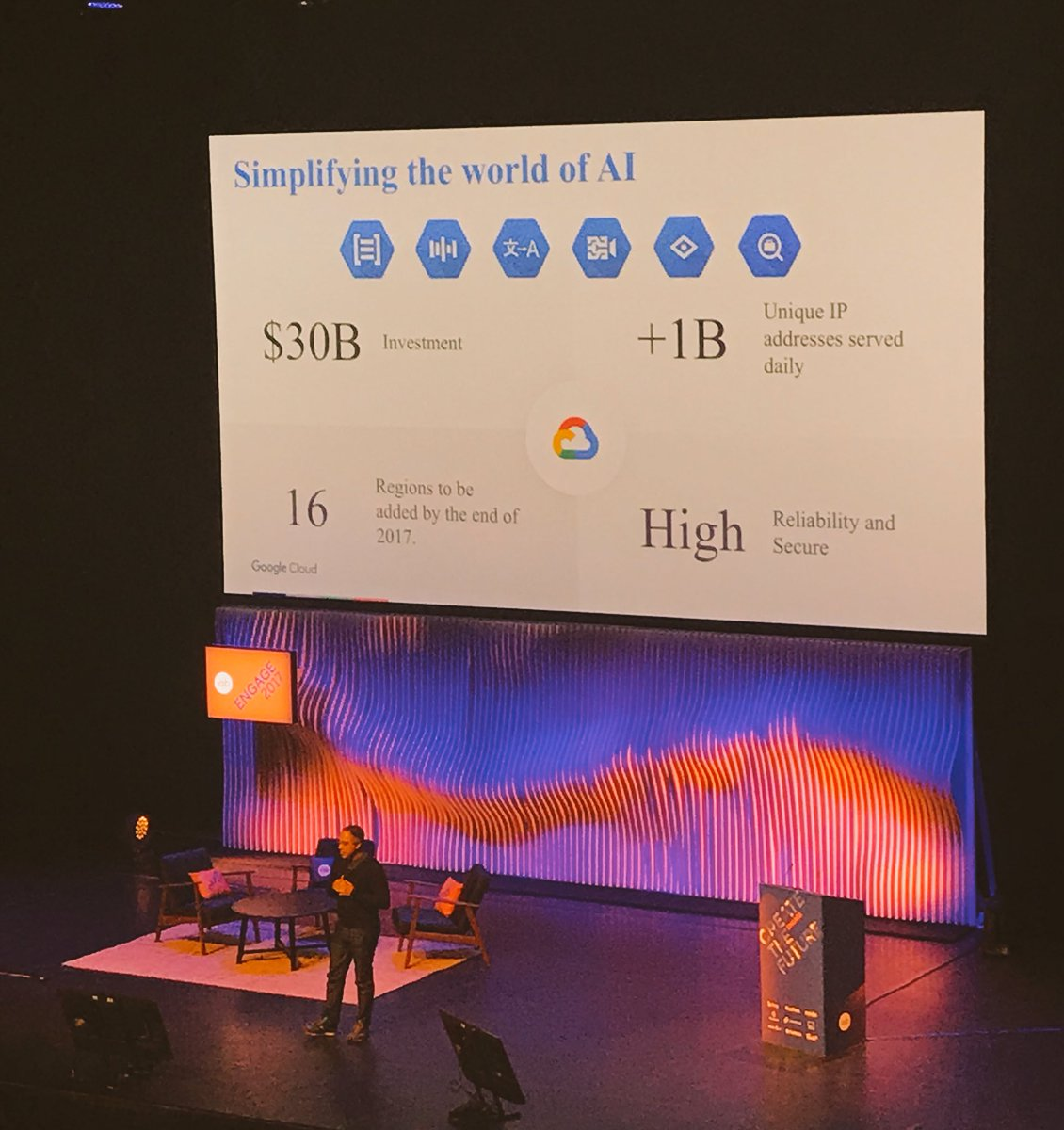 Google has invested $30 billion in to #AI already. #iabengage https://...