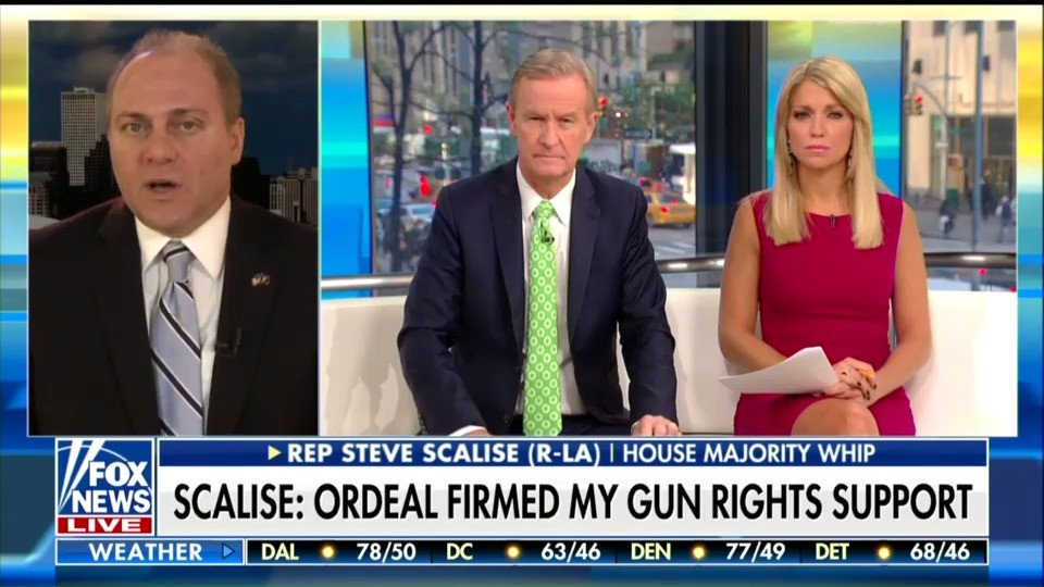 Steve Scalise says mass shootings are the cost of the Second Amendment https://t.co/Sju5flcLLA