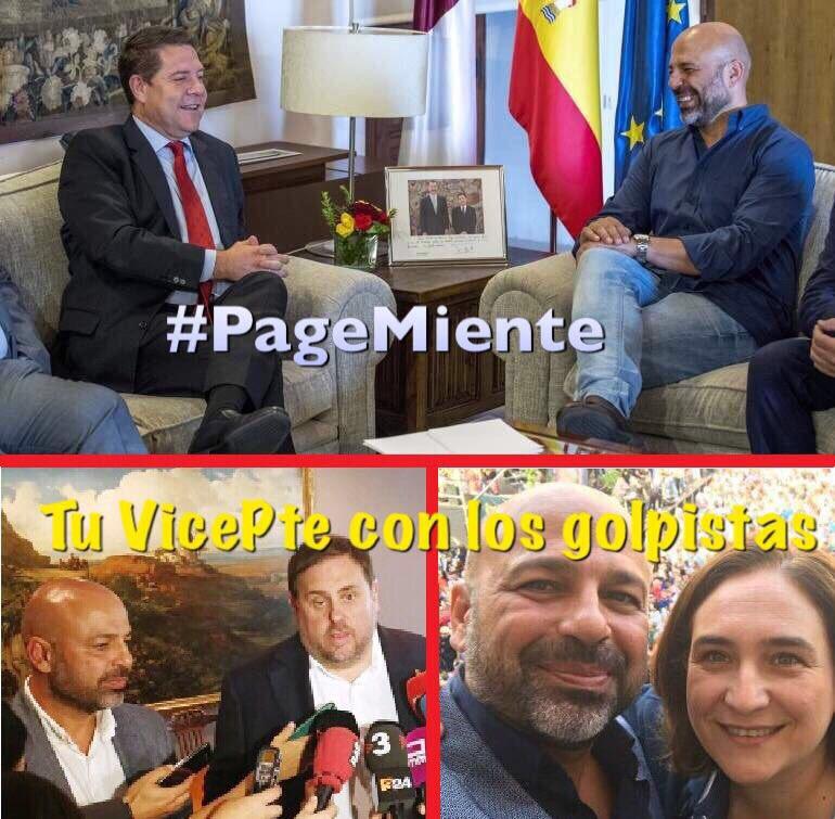 Page está asustado por el diálogo de su Gobierno con los Golpistas #Pa...