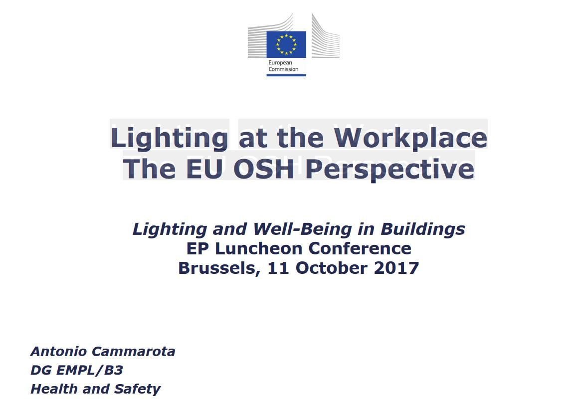 Lightingeurope On Twitter Light4wellbeing Lighting At The