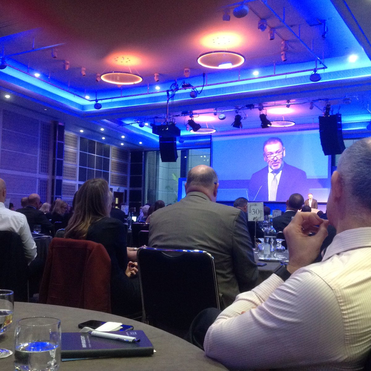 Mike Nigro sets scene at #inpursuit2017 complete with purple tie #just #saying delighted to join you @mypurplespace @DisabilitySmart<br>http://pic.twitter.com/Mw8XfDYvXP
