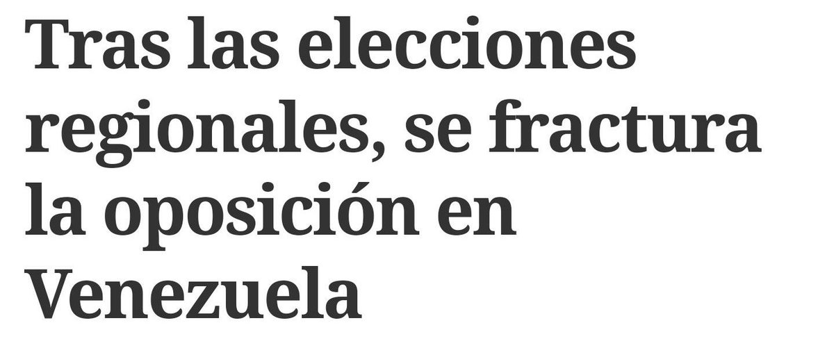 #18Oct CLARÍN | ARGENTINA | Tras regionales se fractura la Oposición e...