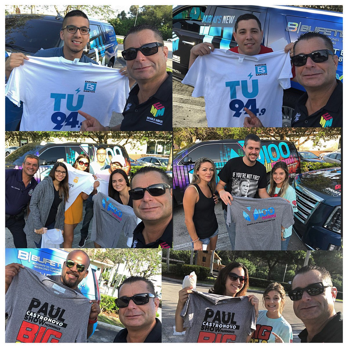 #McDonalds #FreePrizes #GoodMorning from #TU949 #Y100Miami #Big1059 #939MIA #1035theBeat #WIOD #MobileMike #FreeTShirts from #Bufete<br>http://pic.twitter.com/yY88aVA4uS
