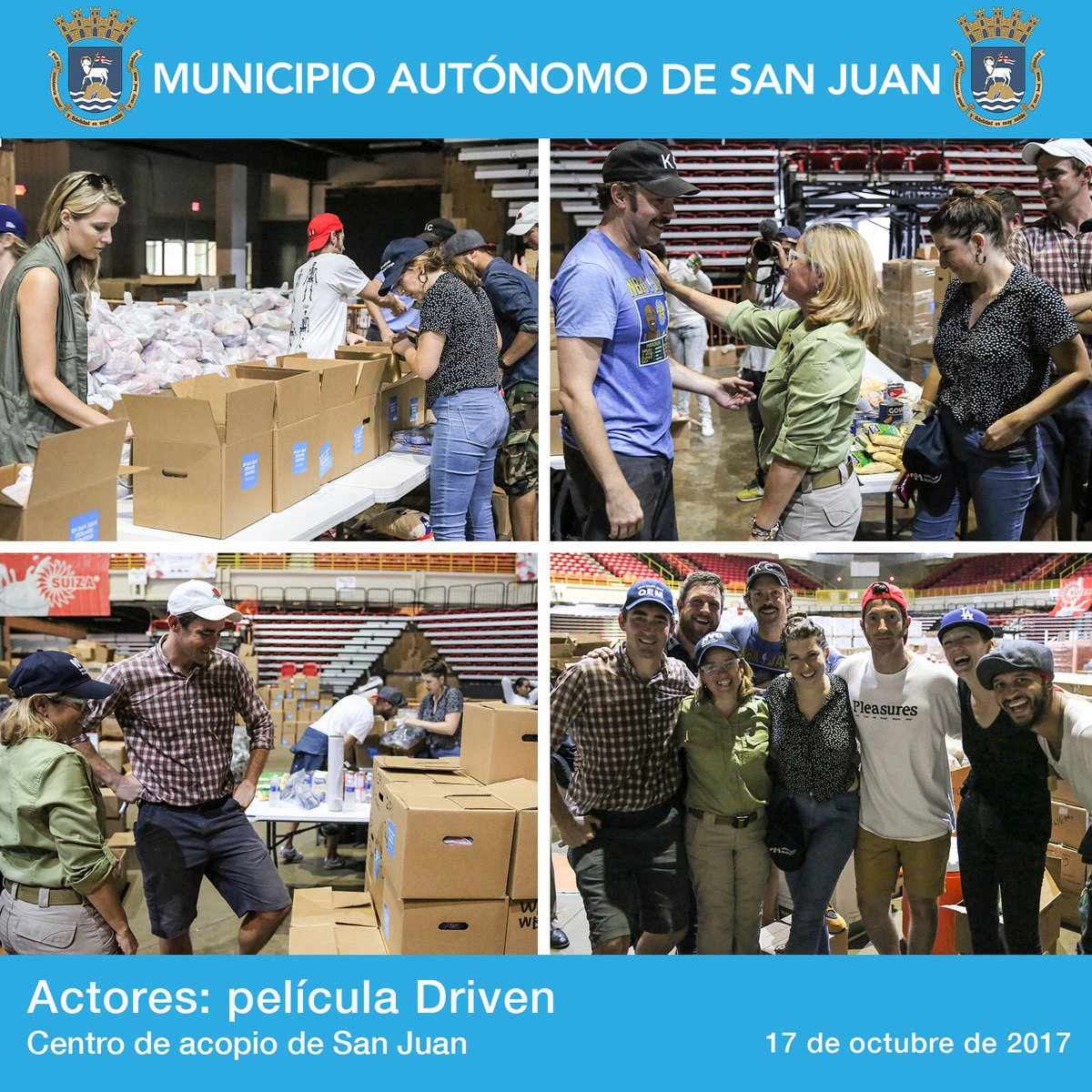 Lee Pace and cast of Driven offer their help to the people in San Juan Puerto Rico Source : @CarmenYulinCruz  #PuertoRicoStrong #PuertoRico <br>http://pic.twitter.com/MDfnAQV5Q3