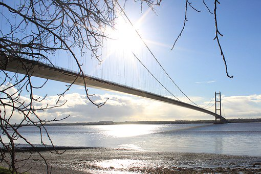 The Humber Bridge is held up by 44,117 miles (71,000km) of steel wire, almost enough to travel twice around the world.