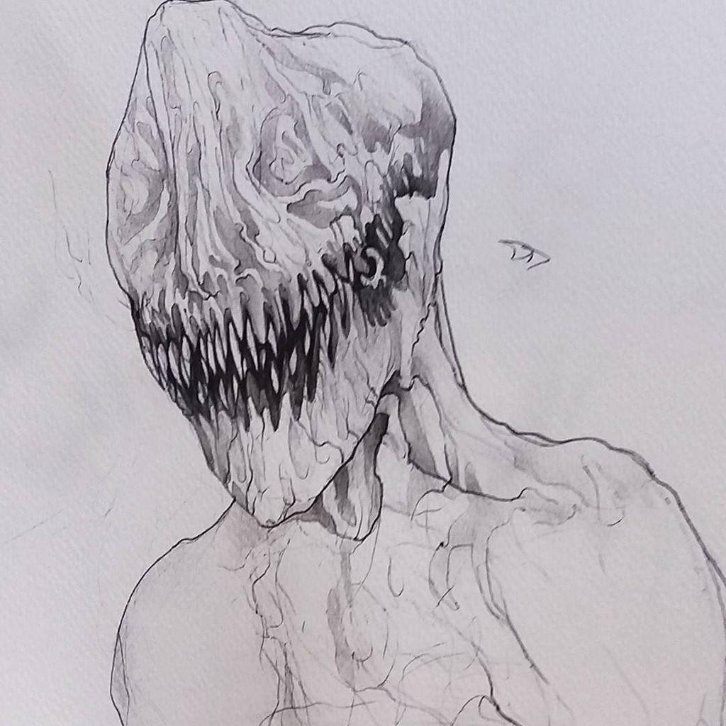 Warframe Sketch Art