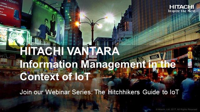 #InformationManagement in the Context of IoT from #hitachivantara  http:// bit.ly/2xQDweu  &nbsp;  <br>http://pic.twitter.com/WxOynAvqWF