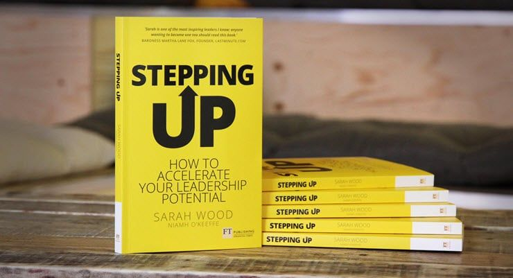 Today we launched @sarahfwood's #SteppingUp at Unruly HQ! Find out all the details here 📚 https://t.co/5Cwq00dlFg https://t.co/JjhiQniMuV