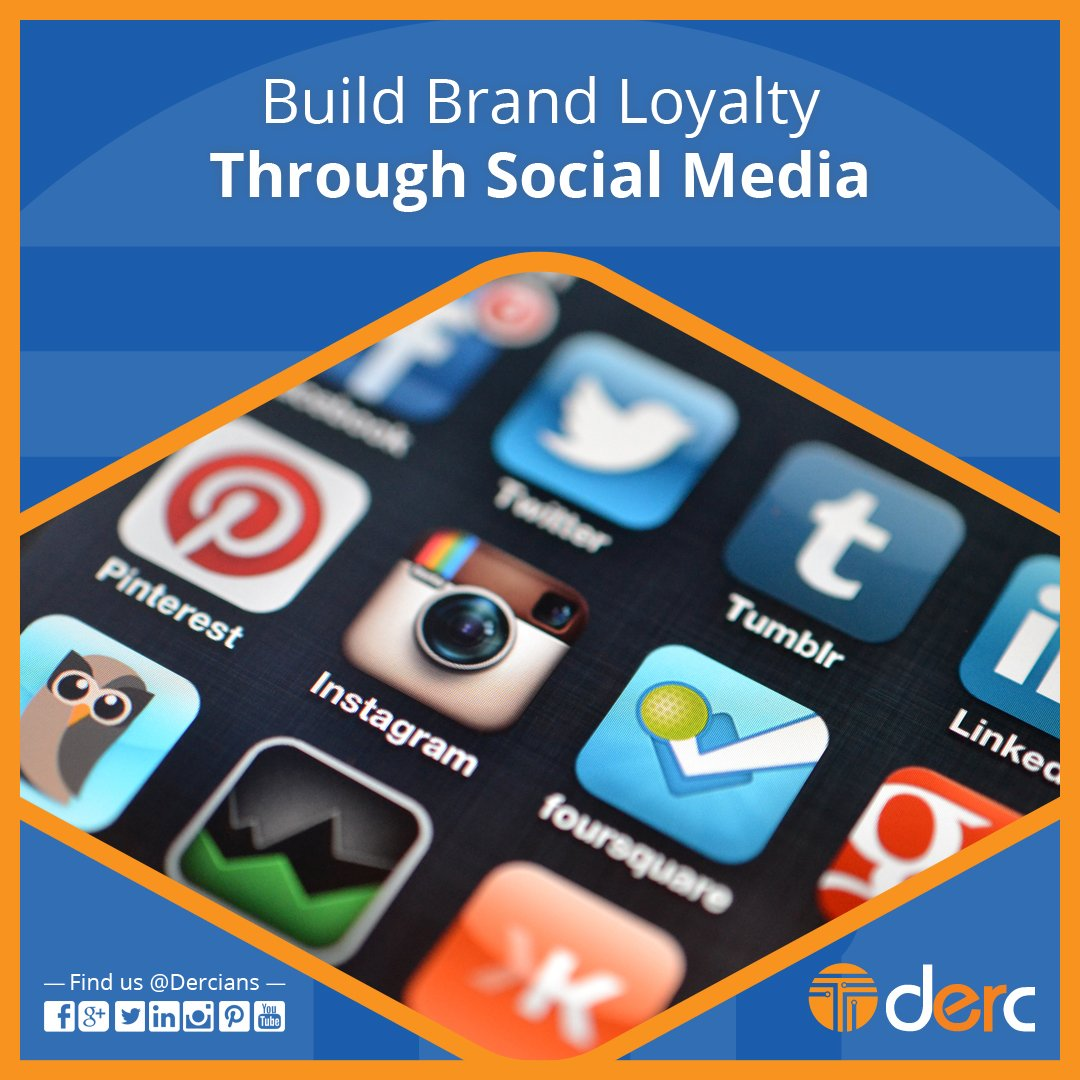 #Brands who engage on #socialmediachannels enjoy higher #loyalty from their #customers.  #Derc #BrandingSolutions #SocialMedia #Customer<br>http://pic.twitter.com/GeOWFrSfTn