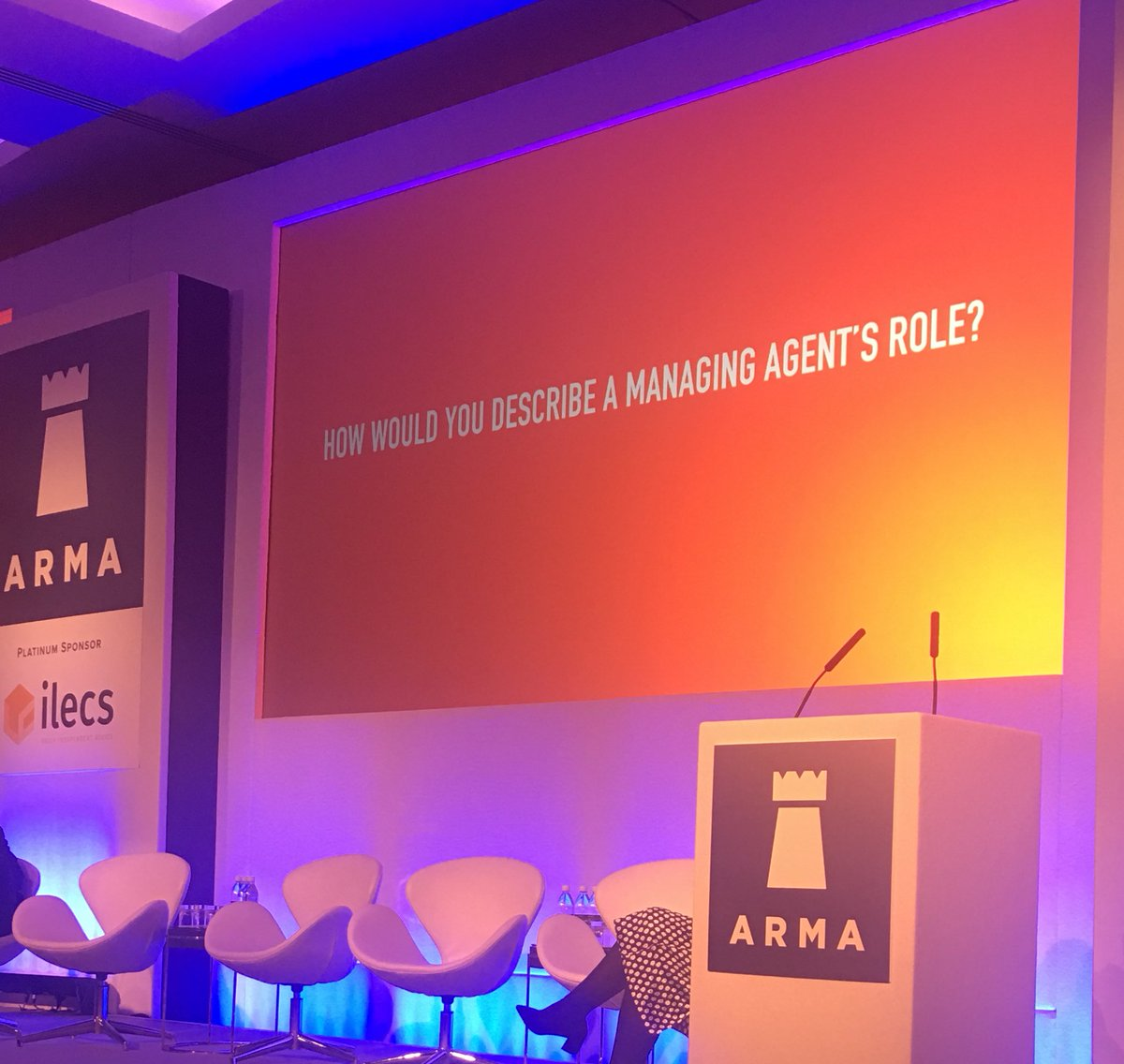 Debra &amp; Charles from @SAYProperty highlight the importance of #developers designing &amp; building blocks for #management #ARMAConf2017<br>http://pic.twitter.com/9Ns9N0Se48