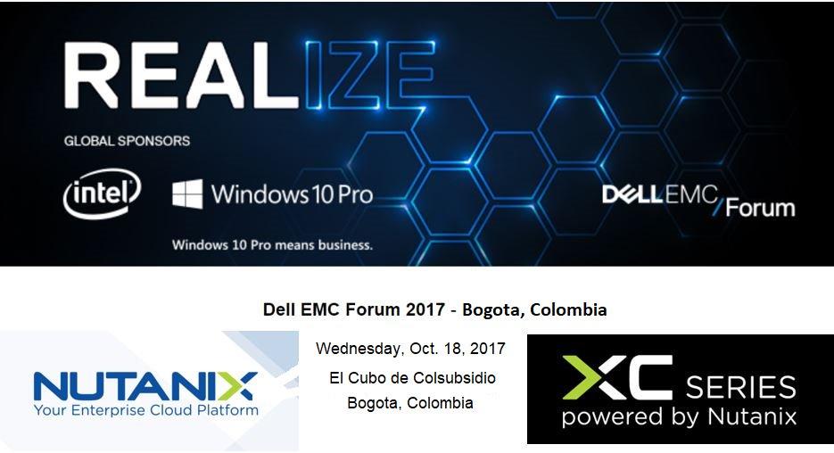 BOGOTA, COLOMBIA: Join me &amp; @nutanix team @ #DellEMC Forum, today, Wed.10/18 #HCI #Leaders #DellEMC_XC #PoweredByNutanix #EnterpriseCloud<br>http://pic.twitter.com/sh5hKDDvNM