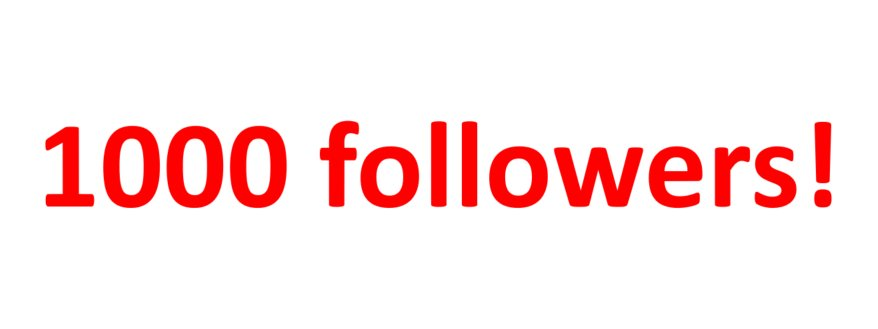 We&#39;ve passed 1000 followers! Thank you everyone and here&#39;s to the next 1000!  #medcomms <br>http://pic.twitter.com/s1xIEr9K5K
