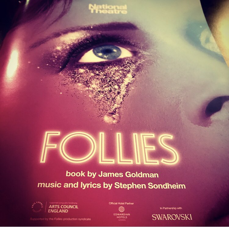 LOVED #Follies @NationalTheatre last night with @katedowdcasting - truly incredible  @Deejanie @gempagethompson @barnwa @christinet1604<br>http://pic.twitter.com/rlF9IkX36Z
