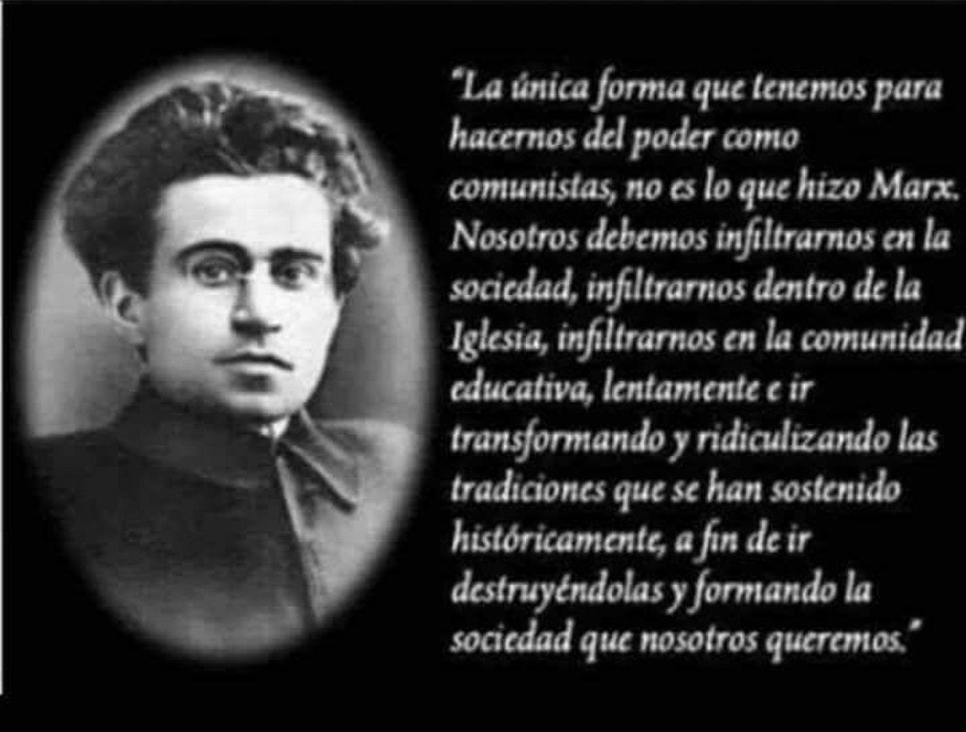 Javier Milei On Twitter Antonio Gramsci Te Explica En La