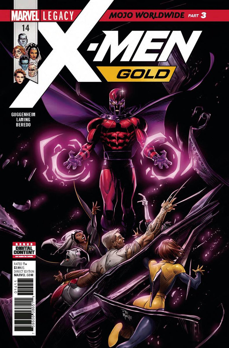 Cover of the Day: X-Men Gold #14, out now! With interiors by our good friend @monkey__marc  #XMenGold #MojoWorldwide #MarvelLegacy @Marvel<br>http://pic.twitter.com/wwClol6C39