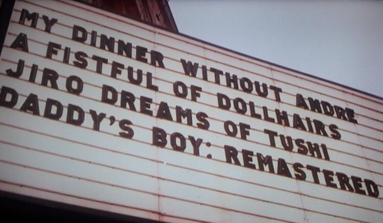 Fake movie titles from #unbreakablekimmyschmidt I want to see A Fistful Of Dollhairs <br>http://pic.twitter.com/OjHZJe5saU