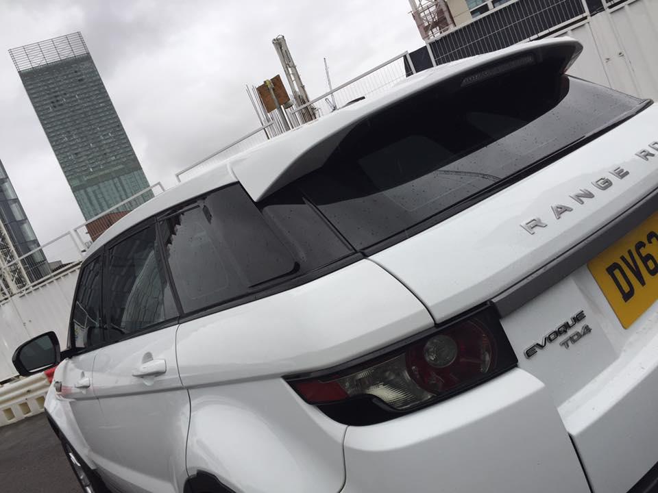 #Range #Rover #Evoque Windows Tinted Here At Urban Customs Manchester  http://www. tintedwindowsmanchester.co.uk  &nbsp;  <br>http://pic.twitter.com/p5StMBpU3p