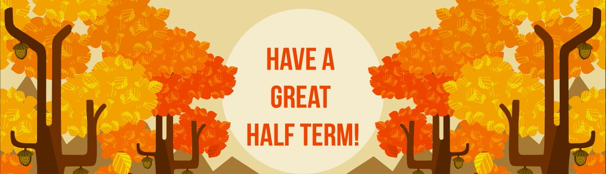 Image result for happy half term autumn
