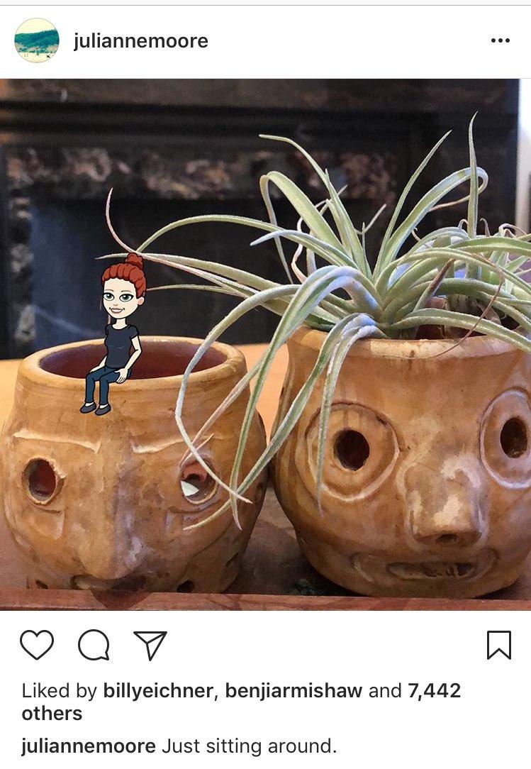 RT @erspamer_matt: Academy Award Winner Julianne Moore is having the time of her life on Instagram https://t.co/KoGG9KgYgq