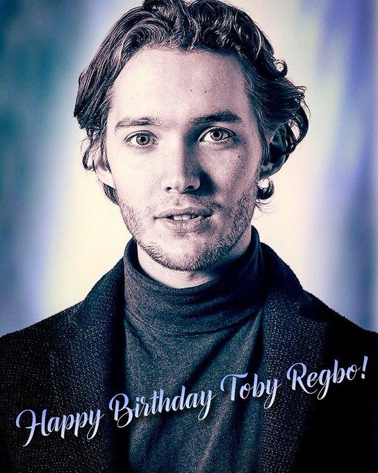Happy Birthday Toby Regbo!
