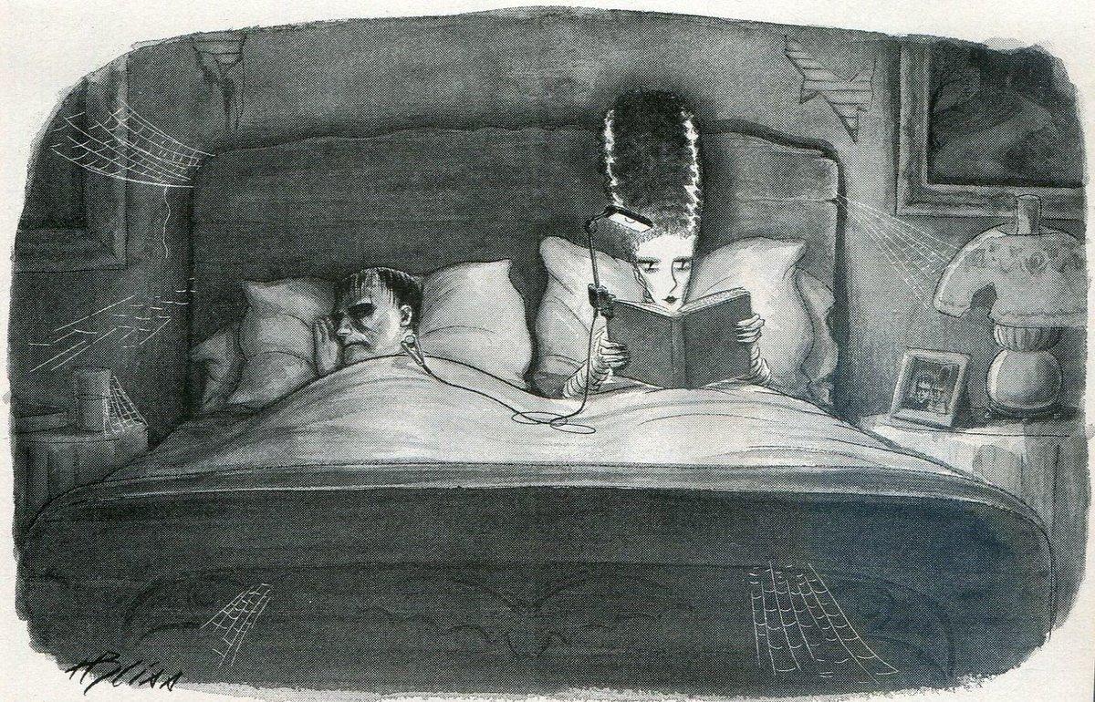 amazing #Bride of #Frankenstein illustration    (thank you @keller78rpm)<br>http://pic.twitter.com/2f4fc6ACcK