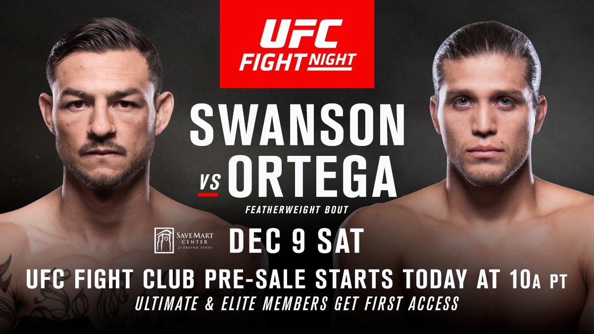 ⏰ IT'S TIME ⏰  Tickets for #UFCFresno are now on sale for Fight Club members: https://t.co/BEUjmYOssd https://t.co/pJgyBWTTEn