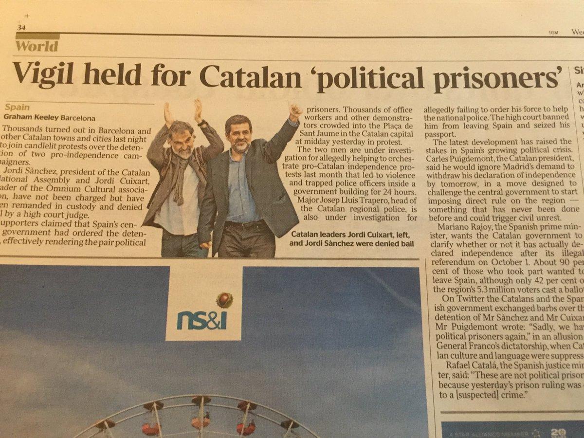 "Para el Times de Londres ""political prisioners"" https://t.co/9x3gkqysVz"
