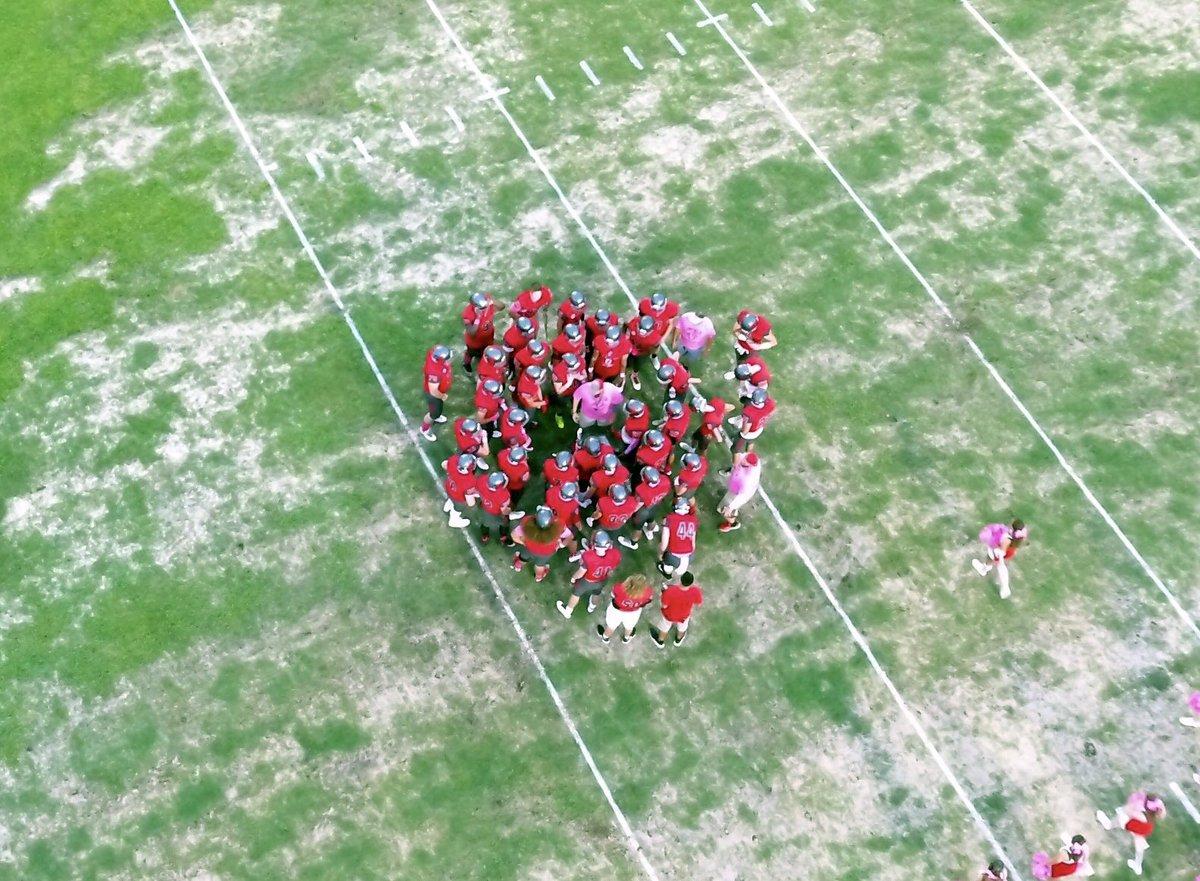 ONE TEAM. ONE HEARTBEAT. #NotPlanned #Uncommon #BeatFernandina #SeniorNight<br>http://pic.twitter.com/MKWAWOLm3p