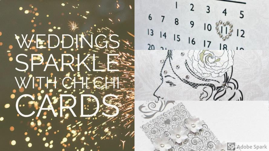 Weddings Sparkle with Chi Chi Cards #Handmade #Personalised #Swarovski #Luxury  #weddingWednesday #QueenOf #eshopsUK  https://www. chichicards.co.uk/wedding-cards  &nbsp;   <br>http://pic.twitter.com/VOhPBGlqCg