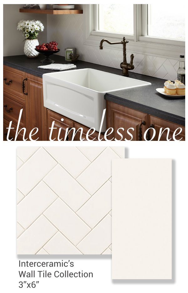 Interceramic Usa On Twitter Subway Tile Convert A Basic 3x6 White