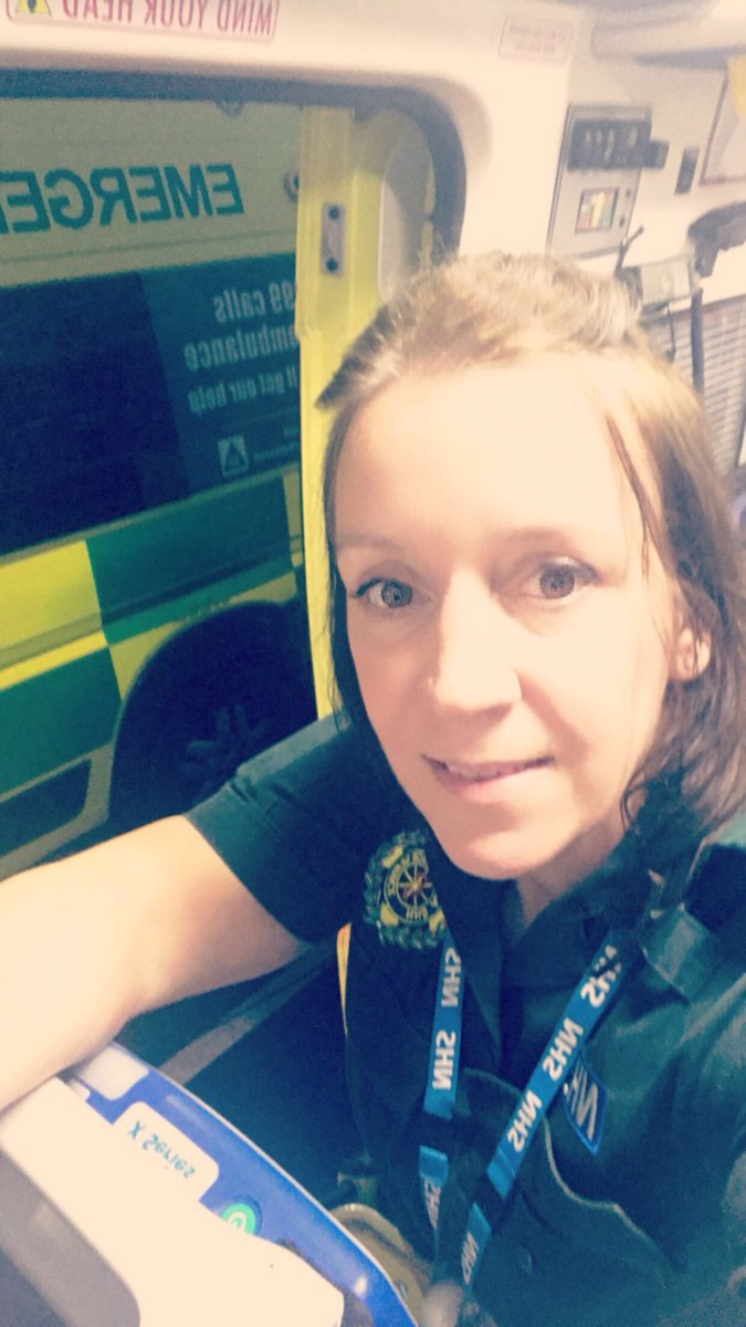 Just booked on for the night shift with the lovely Myles.. I'll get him in a photo later   #paramedic #shycrewmate<br>http://pic.twitter.com/k3M4orBxqj