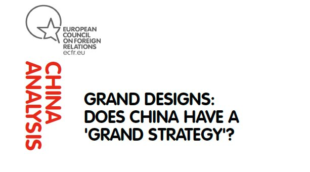 Our latest #Chinalysis is out!  #BRI #China #Maritime  «Grands Designs: Does China have a 'Grand Strategy'?»  http:// ow.ly/rKKq30fXzpl  &nbsp;  <br>http://pic.twitter.com/CK99ODSEas