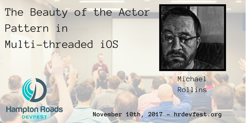 If you develop in #ios, you don&#39;t want to miss @rollinsio talking about the actor pattern in multi-threaded iOS apps  http:// bit.ly/2gjcxgr  &nbsp;  <br>http://pic.twitter.com/Jli7PAbZY1