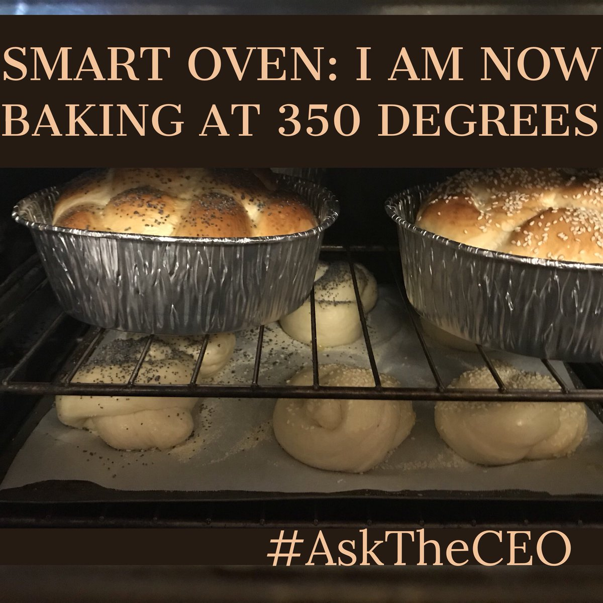 Can't figure out how to use your new #Smart oven? Send it a text!  http:// SimiPlex.com  &nbsp;   #IoT #IIoT #SmartHome #AskTheCEO<br>http://pic.twitter.com/xzhRSLiywC