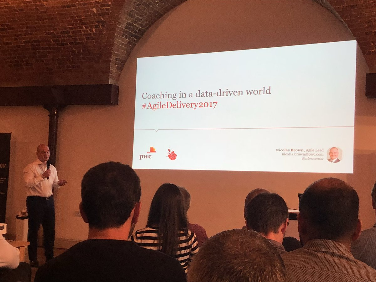Coaching in a data-driven world from @NBrown02 #AgileDelivery2017 #metrics <br>http://pic.twitter.com/wWYSW81JcE