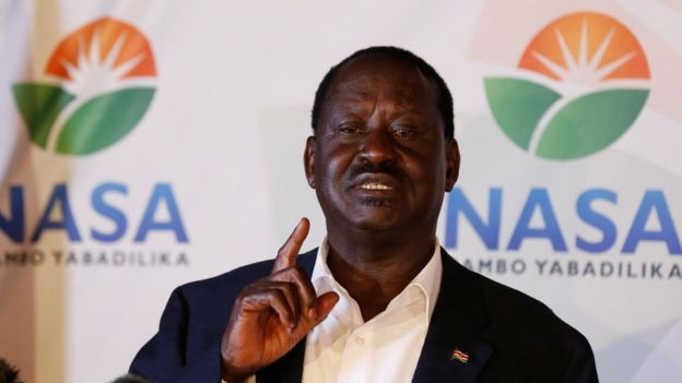 JUST IN: Raila Odinga promises 'mother of all demos' on election day, October 26 https://t.co/ziIdNVt8jW