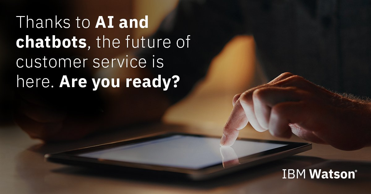 How #chatbots can help reduce #customerservice costs at call centers by 30%:  https:// ibm.co/2imHOmX  &nbsp;   #AI<br>http://pic.twitter.com/MJKAhpNqkx