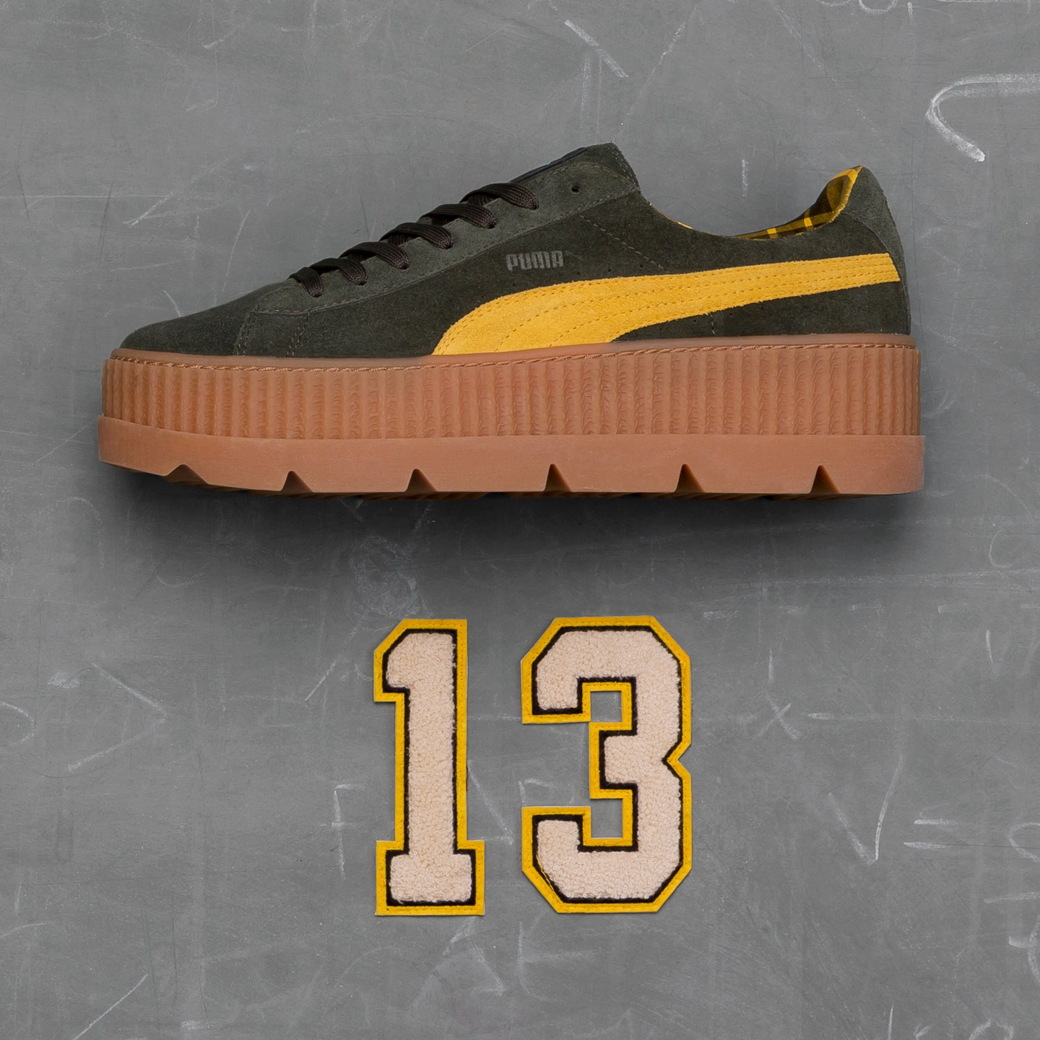 7590679f366c New Fenty Puma Cleated Creepers In 2 New Colorways + More Out Now ...
