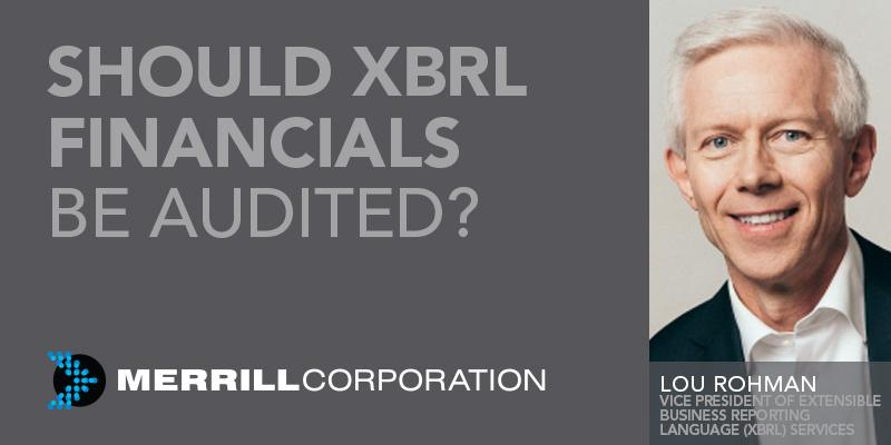 Discover the pros and cons of #audit #assurance for eXtensible Business Reporting Language (#XBRL) financials:  http:// bit.ly/2yx44At  &nbsp;  <br>http://pic.twitter.com/qihsO1Mzjp