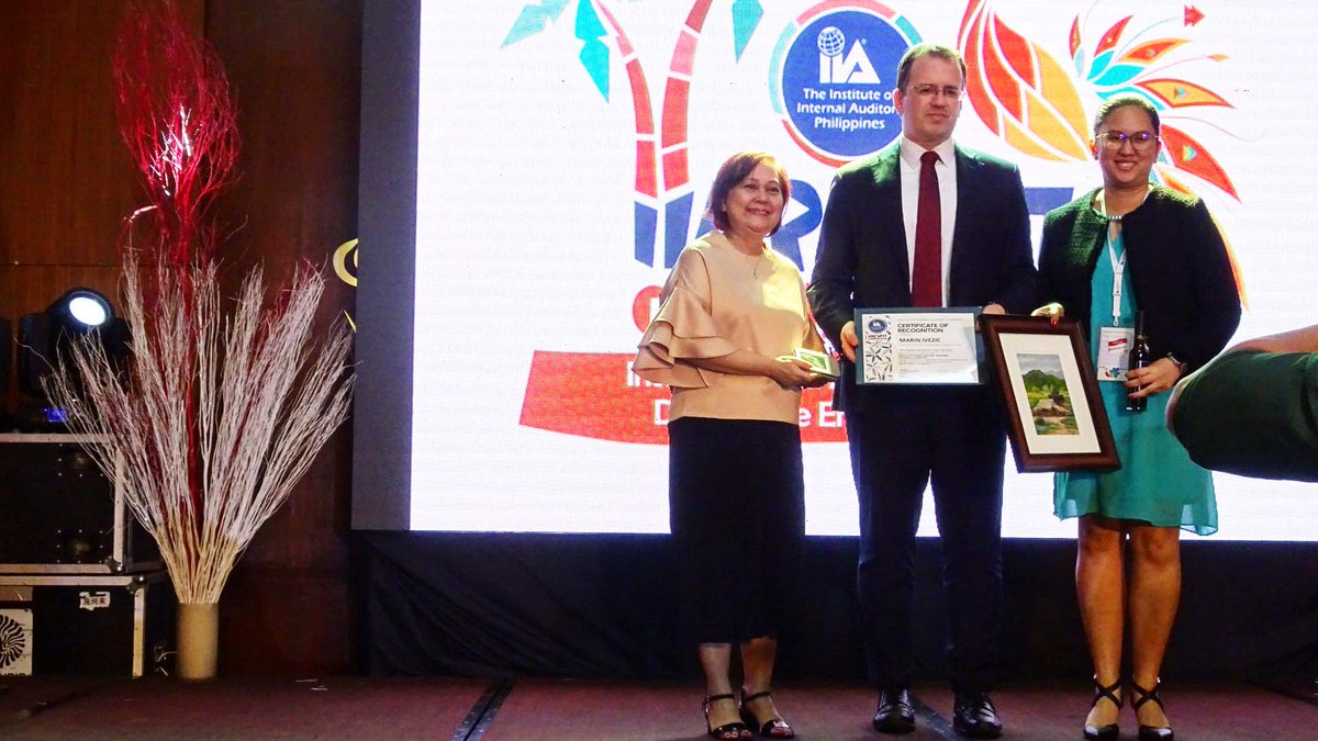 @PwC_China #Risk #Assurance Partner Marin Ivezic on &quot;The Rapid Evolution of Cyber Security&quot; at @IIA_Philippines 2017 Annual Convention<br>http://pic.twitter.com/LLoczSFrrh