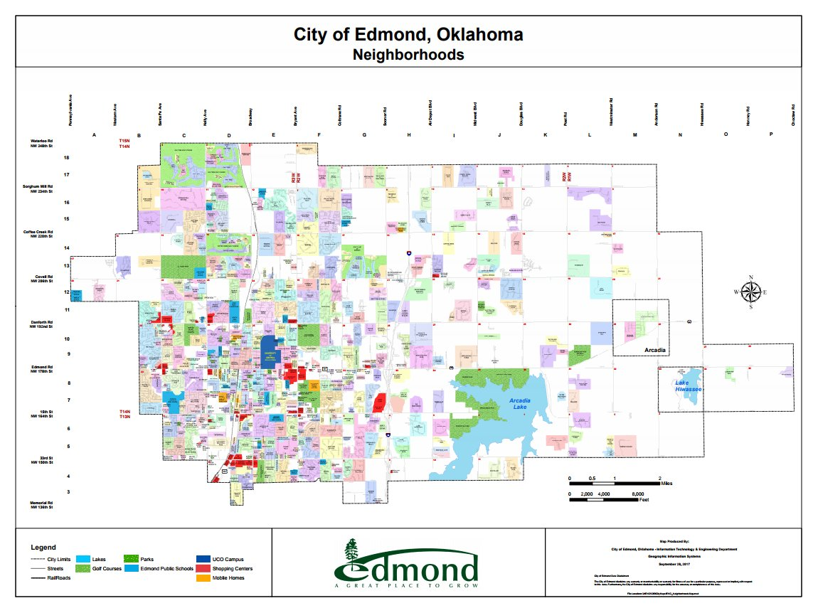 City of Edmond on Twitter Ever hear a neighborhood name and you
