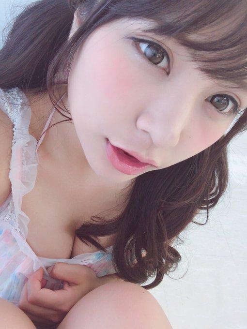 グラビアアイドル葉月佐和のTwitter自撮りエロ画像4