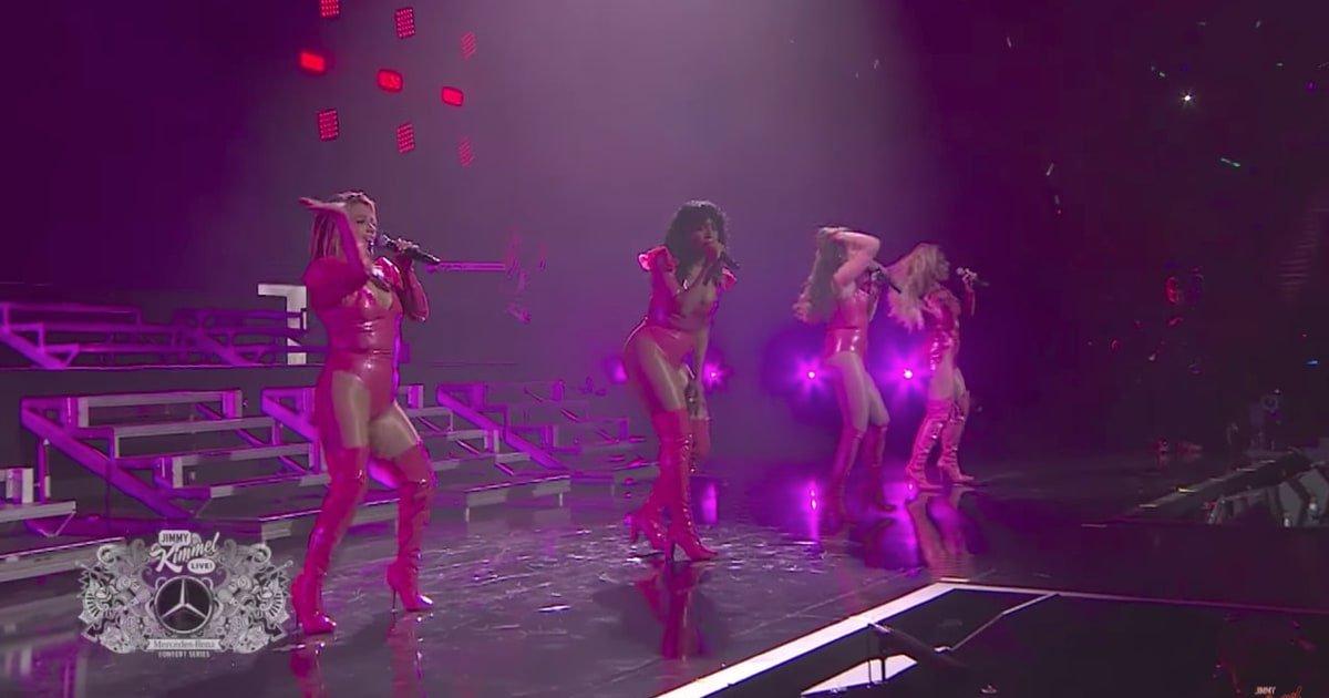 See Fifth Harmony's vibrant performance...