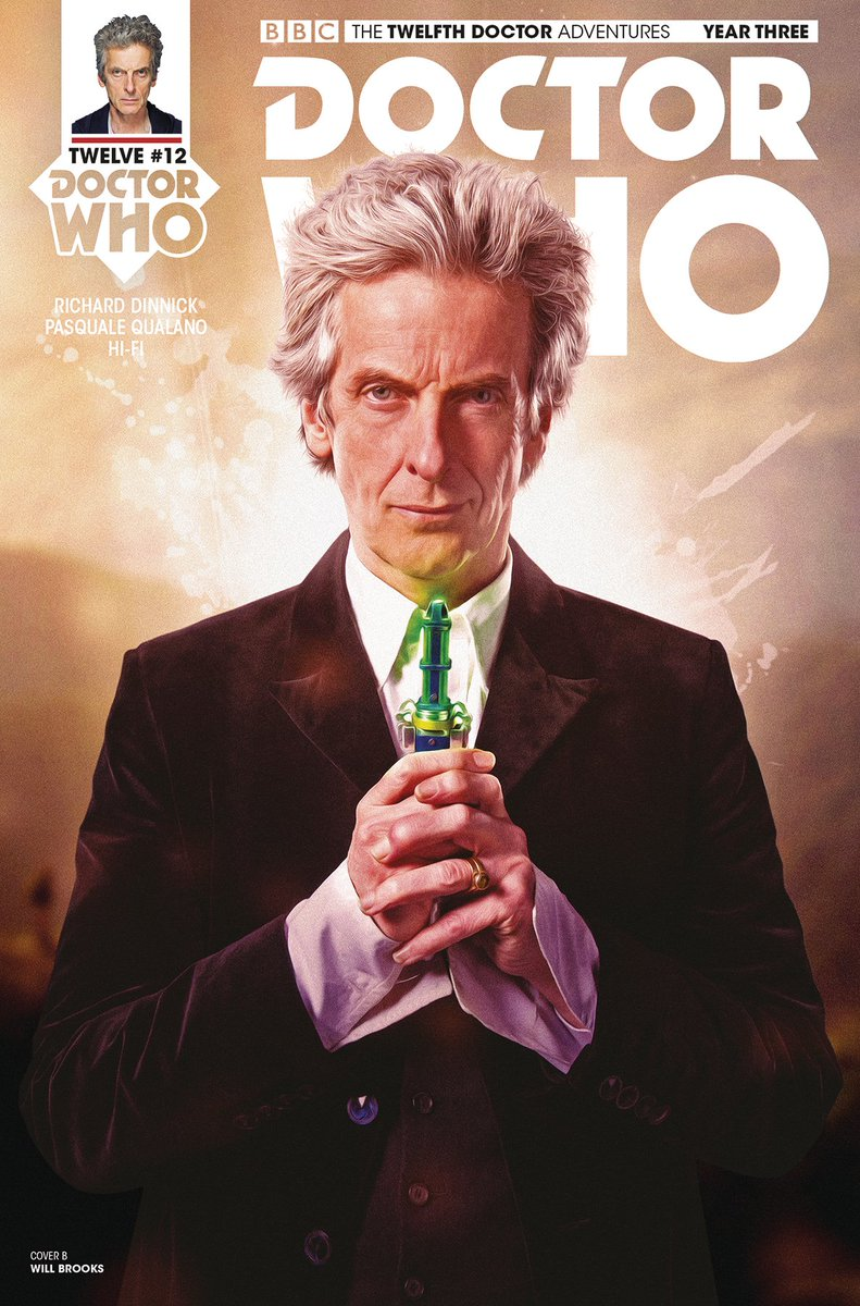 Doctor Who Comic Art On Twitter Preview Of The Twelfth Doctor 312