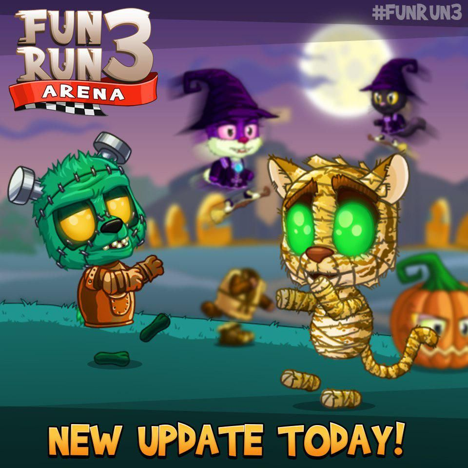 Creep it real with the new and spooky Halloween update! #FunRun3  #update #iOS #Android #multiplayer #racing #game #halloween #spooky<br>http://pic.twitter.com/sX1fhUfRcr