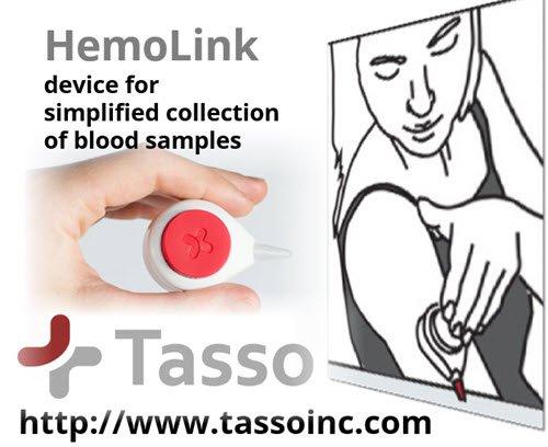 #TassoInc HemoLink #device for simplified #BloodCollection  https:// goo.gl/vJCQ8B  &nbsp;   #bloodsample #healthtech #medtech #meddevice #ehealth<br>http://pic.twitter.com/E3f2hgkJ0k