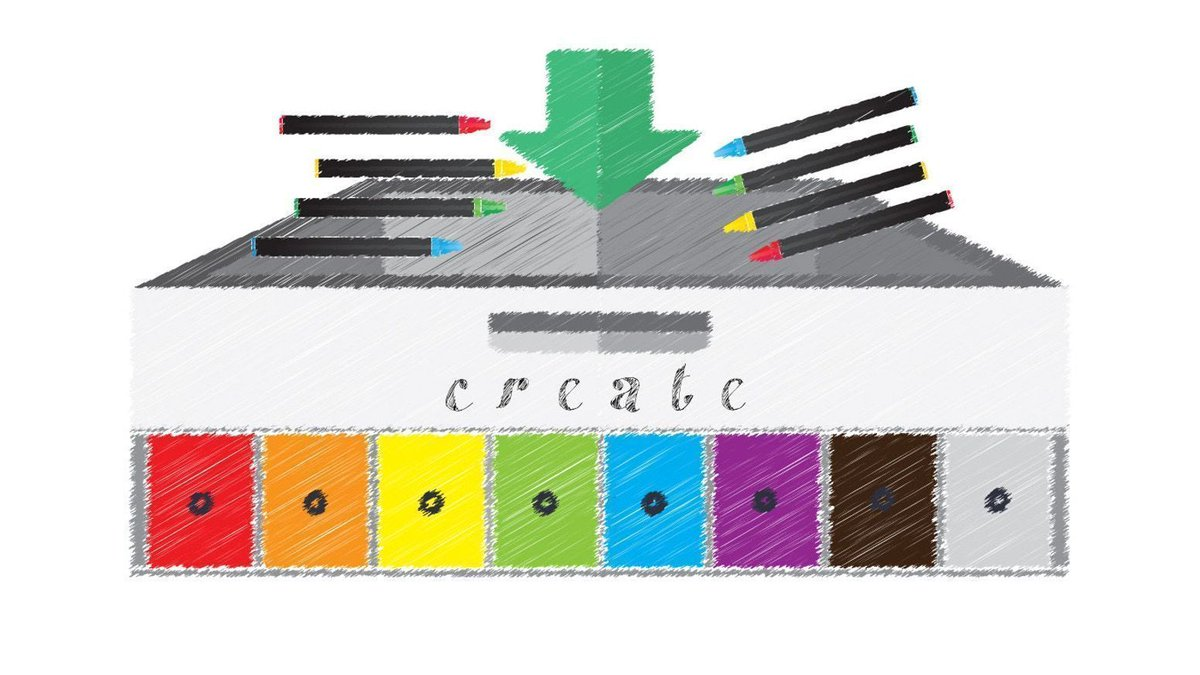Electronically #organize all your #kids&#39; #crayons &amp; save time. Support the creation of an Automatic Crayon Sorter -  https:// buff.ly/2ywYq1a  &nbsp;  <br>http://pic.twitter.com/Hfovq0Tlqs