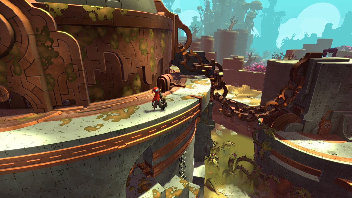 New Release: @RunicGames' Visually Stunning Hob Tasks Players With Repairing A Broken Planet https://t.co/3w4t2bkPOl https://t.co/1pGUhuX76o